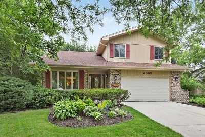 Homer Glen IL Single Family Home New: $350,000