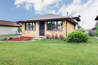 Orland Hills Single Family Home New: 8833 167th Street