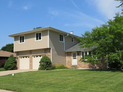 Schaumburg Single Family Home Price Change: 133 South Knollwood Drive