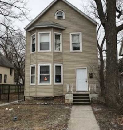Chicago Multi Family Home Re-Activated: 1658 Thorn Street