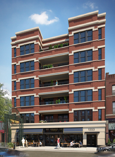 Condo/Townhouse Contingent: 1553 North Wells Street #205