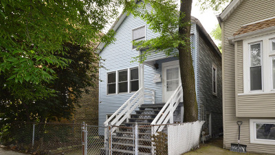 Single Family Home For Sale: 3436 North Damen Avenue