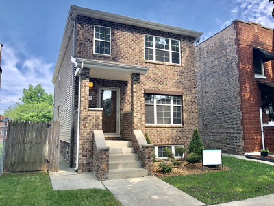 Chicago IL Single Family Home New: $250,000