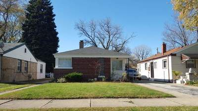 Calumet Park Single Family Home Re-Activated: 12610 South Elizabeth Street