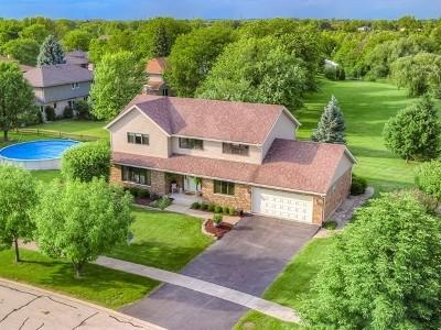 Orland Park Single Family Home Price Change: 14801 Oakcreek Court