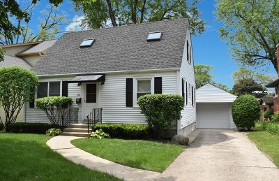 Arlington Heights Single Family Home Re-Activated: 828 North Ridge Avenue