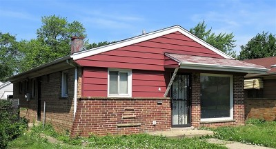 Chicago IL Single Family Home New: $73,000