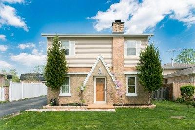 Palos Heights, Palos Hills Single Family Home New: 10627 South 84th Avenue