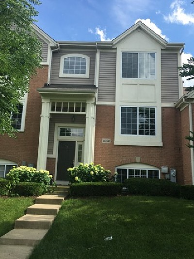 Orland Park Condo/Townhouse New: 14031 South John Humphrey Drive