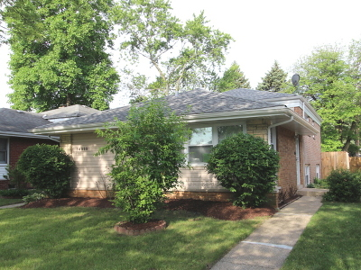 Dolton  Single Family Home New: 14808 Kenwood Avenue