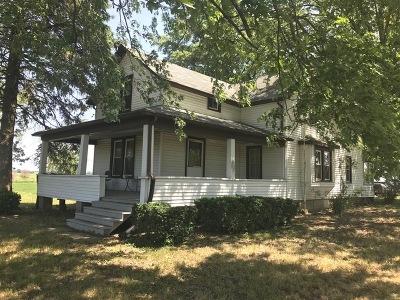 Beecher Single Family Home Price Change: 2715 West Beecher Peotone Road