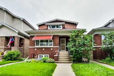 Chicago Single Family Home Re-Activated: 4917 North Keeler Avenue