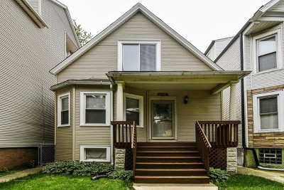 Single Family Home For Sale: 2435 West Berteau Avenue
