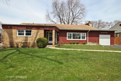 Mount Prospect Single Family Home New: 1204 West Central Road