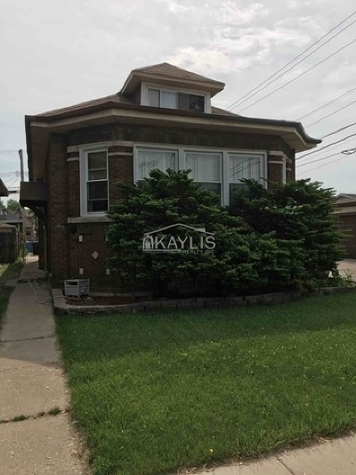 Chicago IL Single Family Home New: $185,500