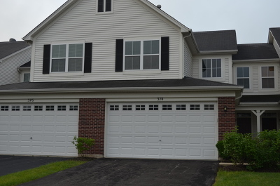 Oswego Condo/Townhouse New: 374 Chesapeake Lane #374
