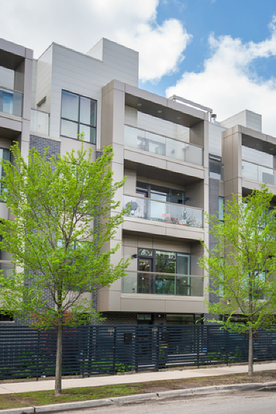 Condo/Townhouse New: 1305 West Diversey Parkway #1