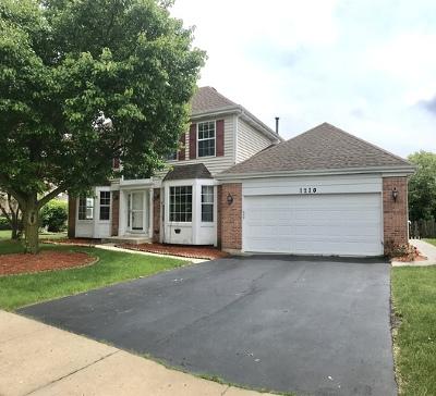 Carol Stream Single Family Home New: 1210 Easton Drive