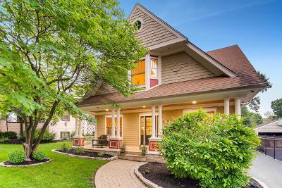 Downers Grove Single Family Home Price Change: 4825 Saratoga Avenue