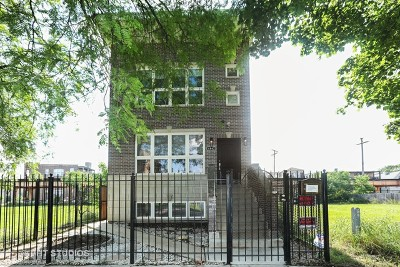 Chicago Single Family Home For Sale: 4842 South Calumet Avenue