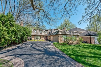 Wilmette Single Family Home For Sale: 1002 Hibbard Road