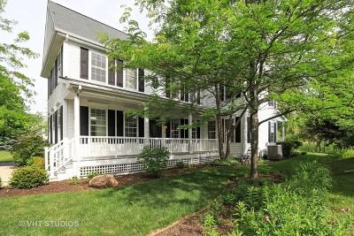 Grayslake Single Family Home New: 1128 Hedgerow Drive