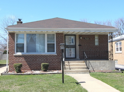 Dolton  Single Family Home New: 15536 Drexel Avenue
