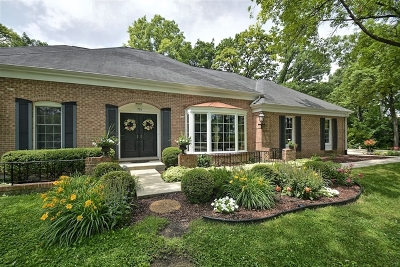 Oak Brook Single Family Home Re-Activated: 706 Forest Glen Lane