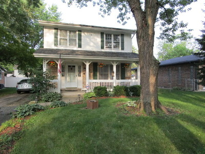 Flossmoor  Single Family Home For Sale: 18935 Harding Avenue
