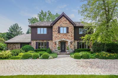 Oak Brook Single Family Home Price Change: 187 Saddle Brook Drive