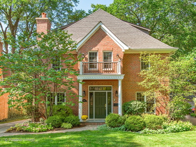 Western Springs Single Family Home For Sale: 4724 Central Avenue