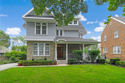 Hinsdale Single Family Home For Sale: 439 North Garfield Avenue