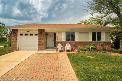 Woodridge Single Family Home Price Change: 6779 Red Wing Drive