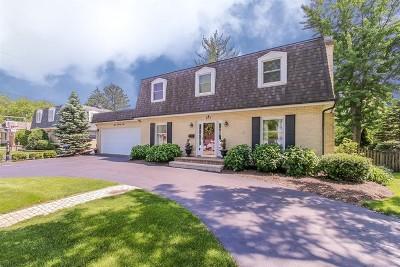 Glen Ellyn Single Family Home Price Change: 875 Duane Street