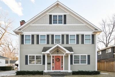 Wilmette Single Family Home For Sale: 2431 Wilmette Avenue