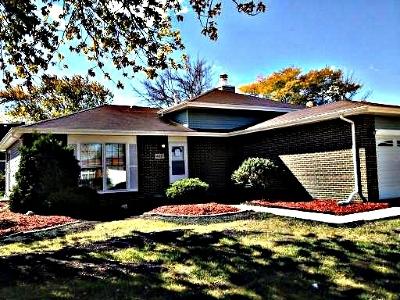 Richton Park Single Family Home New: 4621 Farmington Avenue