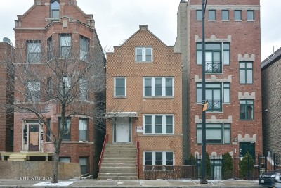 Multi Family Home For Sale: 1843 West Armitage Avenue