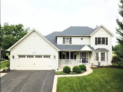 Naperville Single Family Home New: 5215 Coneflower Drive