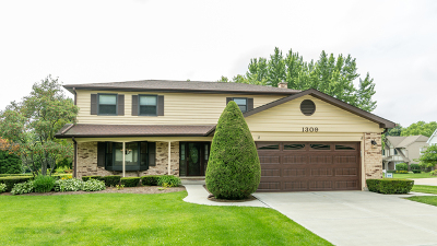 Libertyville Single Family Home New: 1309 Romeo Court