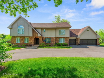 Burr Ridge IL Single Family Home New: $629,000