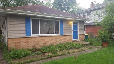 Lombard Single Family Home For Sale: 451 West Windsor Avenue