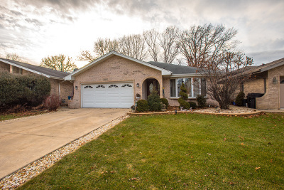 Palos Heights, Palos Hills Single Family Home New: 12652 South Massasoit Avenue