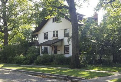 Wilmette Single Family Home For Sale: 1001 Oakwood Avenue