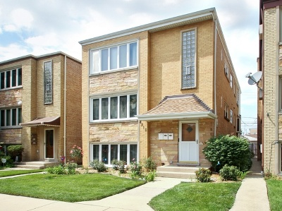 Chicago Multi Family Home New: 8310 West Addison Street