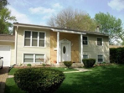 Hazel Crest  Single Family Home For Sale: 17705 Dogwood Lane