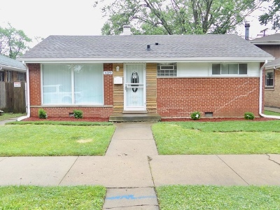 Chicago Single Family Home New: 639 West 109th Street