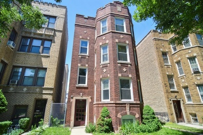 Chicago Multi Family Home New: 5418 North Artesian Avenue