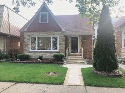 Chicago Single Family Home New: 3004 North Odell Avenue