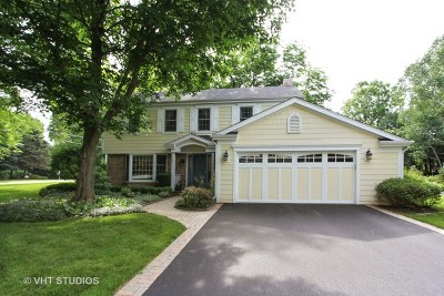 Libertyville Single Family Home New: 738 Hillcrest Drive