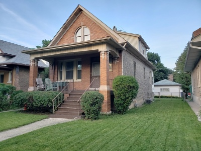 Chicago Single Family Home New: 4109 North Laramie Avenue